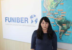 Delegata di FUNIBER in Cina visita la sede spagnola della Fondazione