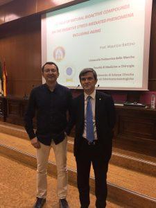 Un successo la conferenza del prof. Maurizio Battino all'Università di Granada (Spagna)