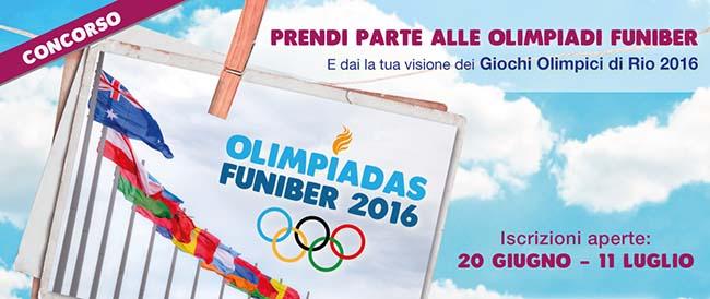 """FUNIBER si unisce ai Giochi Olimpici di Rio 2016 con il concorso """"Olimpiadi FUNIBER"""""""