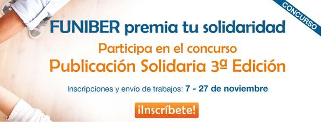 Comincia la 3ª edizione del concorso Pubblicazione Solidale di FUNIBER