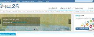 FUNIBER rinnova la pagina web delle sue Iniziative Culturali per darle un maggior impatto visivo