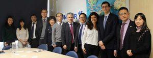 FUNIBER riceve in visita i rappresentanti dell'Università di Zheijang, una delle più prestigiose della Cina