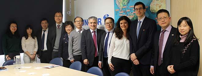 FUNIBER riceve in visita i rappresentanti dell'Università di Zhejiang, una delle più prestigiose della Cina