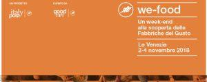 We-Food Festival: un tour alla scoperta delle fabbriche del gusto delle Venezie