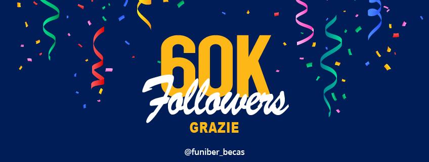 Il profilo Instagram di FUNIBER arriva a 60.000 followers