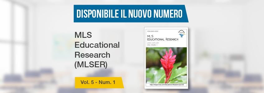 La rivista MLS Educational Research, patrocinata da FUNIBER, pubblica nuovo numero