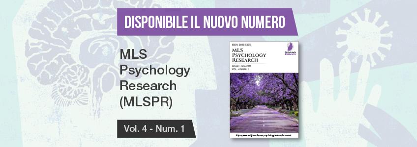 Nuovo numero della rivista MLS Psychology Research, patrocinata da FUNIBER