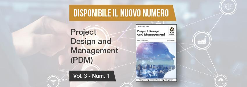 Nuovo numero della rivista Project Design and Management, patrocinata da FUNIBER